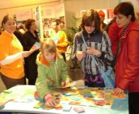 In visita alla stand di Swim the language